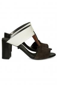 Dorothee Schumacher RAW SIMPLICITY sandals - espresso brown