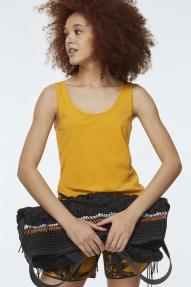 Dorothee Schumacher Casual Softness top - tangerine yellow
