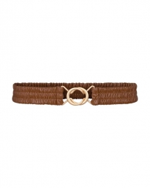 Co'Couture Bria belt - cognac