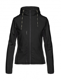 Goldbergh JABET hooded jacket black