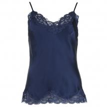 Gold Hawk Floral Lace Cami blauw