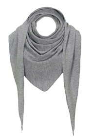 Resort Finest Sella Pointed Scarf - grijs