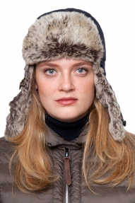 Woolrich Arctic Cap donkerblauw