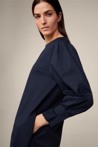 Windsor Cotton Stretch Dress - navy