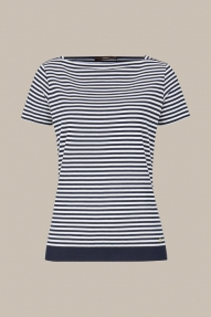 Windsor striped shirt - navy