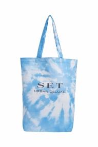 SET Fashion Batik Jutebag - It blue white