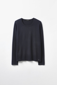 SET Fashion mini skirt with python print - blue camel