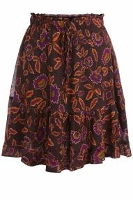 SET Fashion skirt - black yellow