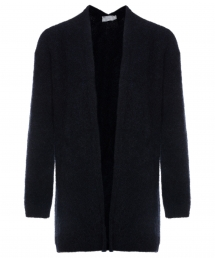 No Man's Land long cardigan - core black