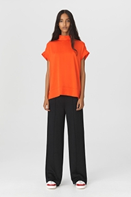 By Malene Birger CANDILLON top - oranje