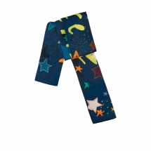POM Amsterdam SHAWL - Silk Bow Stars multicolour