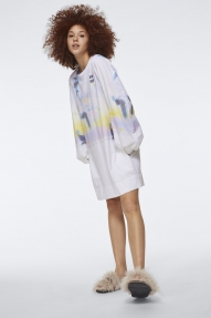Dorothee Schumacher DIVE DEEP dress - high blurry blue