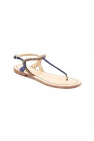 Malìparmi Flat Sandal blauw