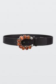 Dorothee Schumacher Modern Gypsy Belt - Zwart