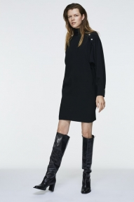 Dorothee Schumacher MODERN ATTITUDE dress - black