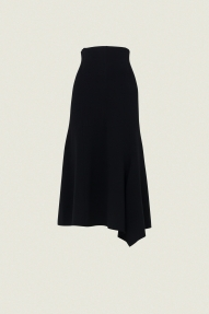 Dorothee Schumacher ESSENTIAL VOLUMES skirt - pure black
