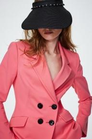 Dorothee Schumacher Summer flash beaded visor - pure black