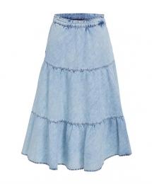 SET Fashion skirt it blue denim
