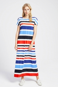 Trvl Drss LONG RELAXED DRESS multicolour