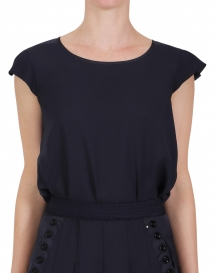 High SWIFT top - black