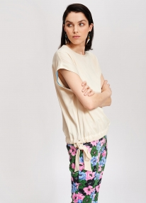 Essentiel TAK SLEEVELESS TOP - butter