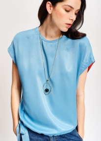 Essentiel TAK SLEEVELESS TOP blauw