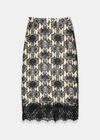 Essentiel TRAVELLER MIDI PENCIL SKIRT multicolour