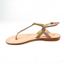 Malìparmi Flat Sandal roze