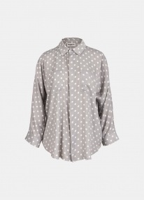 Essentiel VIRAL shirt - grey/off white