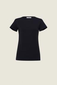 Dorothee Schumacher Casual Softness Top - black