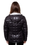 kway jas lily thermo metal zwart