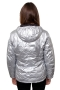 kway jas lily thermo metal zilver