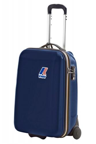 K-way Koffer Mini Trolley donkerblauw