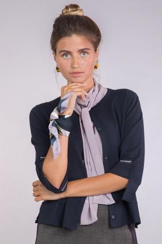 Luisa Cerano Jacke donkerblauw