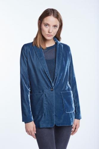 Set Jacket blauw