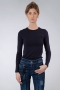 By Malene Birger Elsebet T-shirt donkerblauw
