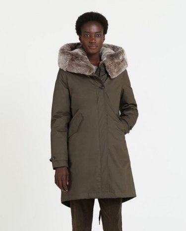 Woolrich W's Literary Rex Parka Military olive