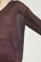 Closed Metallic Look V-Sweater bestellen bij Marja Lamme Fashion Amsterdam