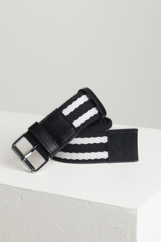 By Malene Birger Woven Belt - zwart