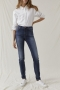 Closed lizzy power stretch blue denim jeans - mid-blue