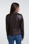 SET Fashion Tyler leather jacket - dark brown bij Marja Lamme Amsterdam