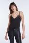 SET Fashion Taira Lace Strap Top - core black