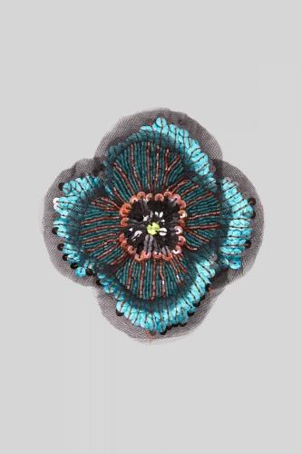 Maliparmi Zebra Flower multicolour