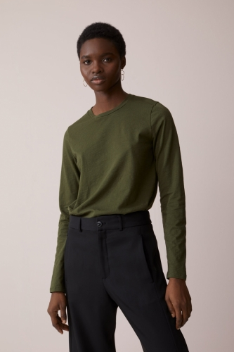 Closed Groen shirt groen