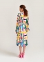 Essentiel VAUDREY RUFFLED DRESS multicolour