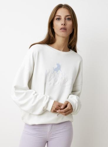 Lois SANNA flock terry - star white