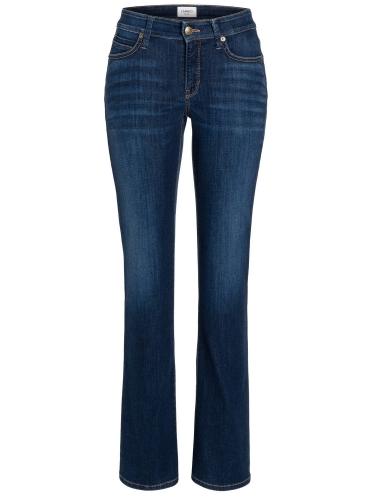 Cambio superstretch denim jeans - dark wash