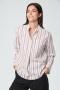 Windsor popline blouse - bruin bij marja lamme fashion amsterdam