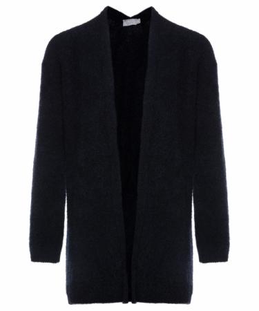 No Man's Land long cardigan - core black