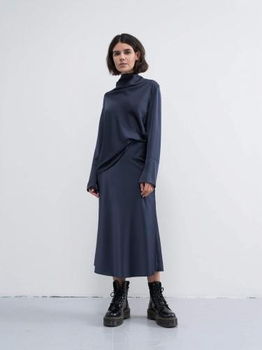 Ahlvar Gallery Ayumi blouse - blue grey